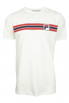 Imagem - Camiseta Fila Algodão Stripe Masculina cód: 057830