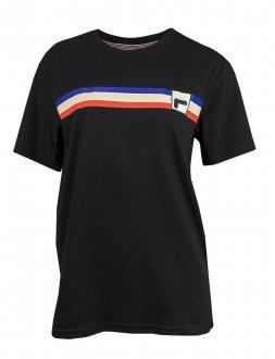 Imagem - Camiseta Fila Algodão Stripes Feminina cód: 057832