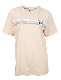Imagem - Camiseta Fila Algodão Stripes Feminina cód: 057833