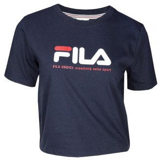 Imagem - Camiseta Fila Cropped Heritage 10 Feminino  cód: 061734