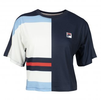 Imagem - Camiseta Fila Poliéster Cropped Aquatime Feminina cód: 057834
