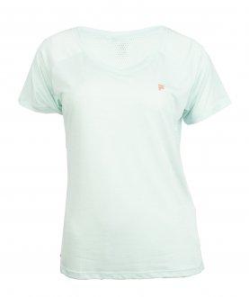 Imagem - Camiseta Fila Poliéster Match Feminina cód: 057960