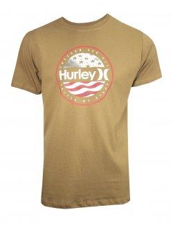 Imagem - Camiseta Hurley Algodão América Masculina cód: 057785