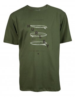 Imagem - Camiseta Hurley Algodão Boards Masculina cód: 057802