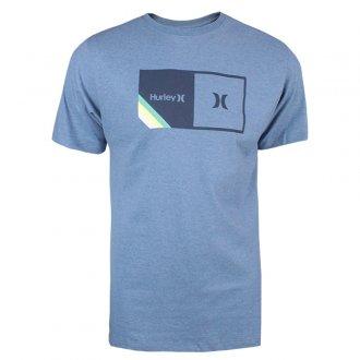 Imagem - Camiseta Hurley Algodão Halfer Stripes Masculina cód: 059965
