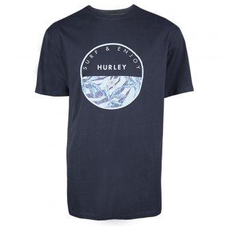 Imagem - Camiseta Hurley Algodão Oversize Print Masculina cód: 059989