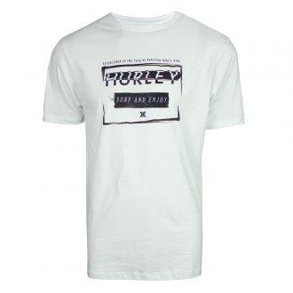 Imagem - Camiseta Hurley Algodão Silk Surf and Enjoy Masculina cód: 059317