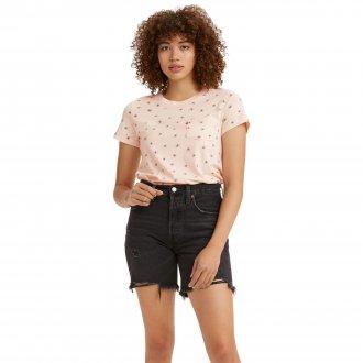 Imagem - Camiseta Levis Perfect Crew Feminina  cód: 061718