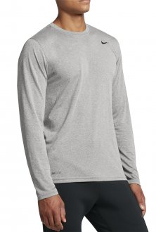 Imagem - Camiseta Manga Longa Nike Poliéster Dry Tee Masculina cód: 056542