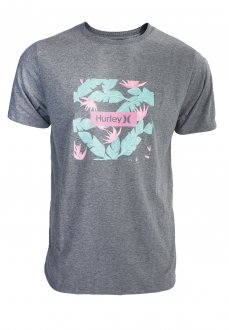 Imagem - Camiseta Hurley Silk Box Floral Masculina cód: 049665