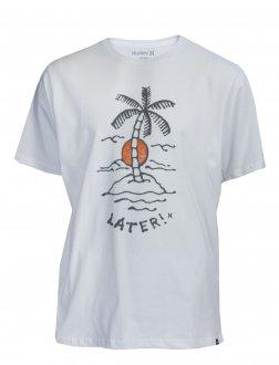 Imagem - Camiseta Hurley Silk Punk Island Masculina cód: 049590