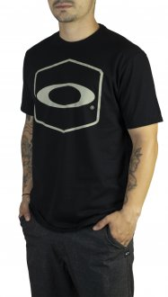 Imagem - Camiseta Oakley Hexagonal Tee Masculina cód: 048813