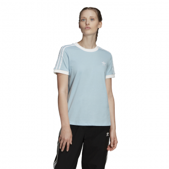 Imagem - Camiseta Adidas Algodão 3 Stripes Feminina cód: 057716