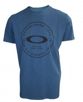Imagem - Camiseta Oakley Fraction Washed Masculina cód: 053474