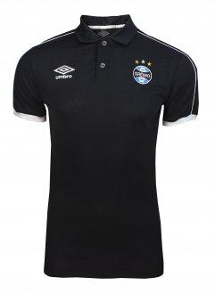 Imagem - Camisa Polo Umbro Grêmio Viagem Masculina cód: 054469