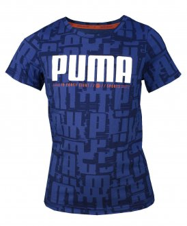 Imagem - Camiseta Puma Active Sports AOP Infantil cód: 054261