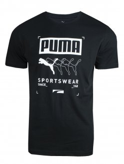 Imagem - Camiseta Puma Algodão Box Puma Tee Masculina - 058407