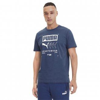 Imagem - Camiseta Puma Algodão Box Puma Tee Masculina cód: 057345
