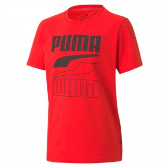 Imagem - Camiseta Puma Algodão Rebel Infantil cód: 057663