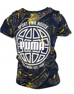 Imagem - Camiseta Puma Alpha AOP Infantil cód: 053876