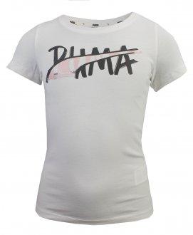 Imagem - Camiseta Puma Alpha Logo Tee Infantil cód: 052358