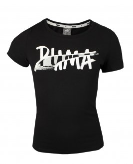 Imagem - Camiseta Puma Alpha Logo Tee Infantil cód: 053875