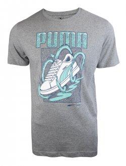 Imagem - Camiseta Puma Sneaker Masculina cód: 053874