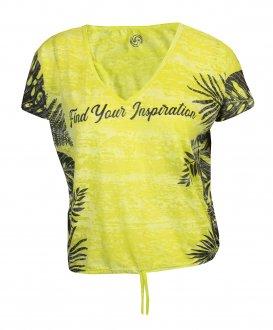 Imagem - Camiseta Rola Moça Devore Feminina cód: 053290