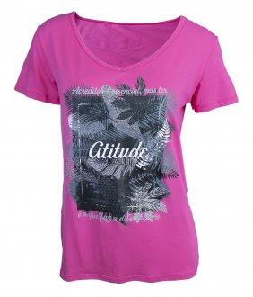 Imagem - Camiseta Rola Moça Feminina cód: 053207