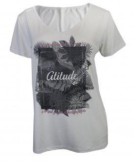 Imagem - Camiseta Rola Moça Feminina cód: 052540