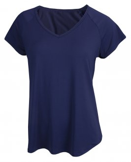 Imagem - Camiseta Rola Moça New Trip Alongada Feminina cód: 053293