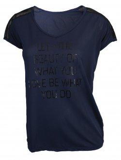 Imagem - Camiseta Rola Moça Sheer Feminina cód: 053237