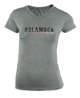 Imagem - Camiseta Rola Moça Viscose Baby Look Feminina cód: 057765