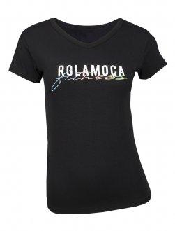 Imagem - Camiseta Rola Moça Viscose Baby Look Feminina cód: 057892