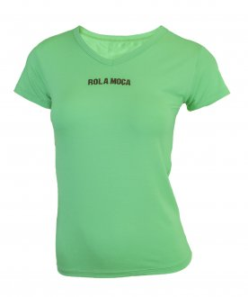 Imagem - Camiseta Rola Moça Viscose Baby Look Feminina cód: 053316