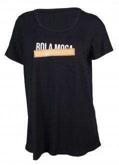 Imagem - Camiseta Rola Moça Viscose Feminina cód: 056136