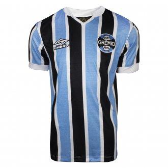 Imagem - Camiseta Umbro Grêmio 1 Retrô Masculina cód: 061765