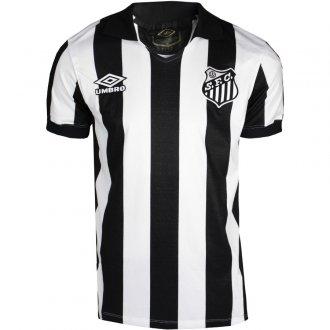 Imagem - Camiseta Umbro Santos 1 Retrô Masculina cód: 061766