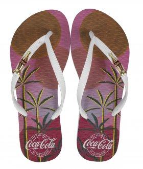 Imagem - Chinelo Coca Cola Beach Club Feminino cód: 058938