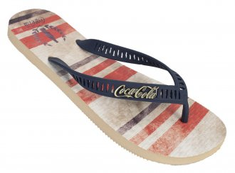 Imagem - Chinelo Coca Cola Casual Bands Masculino cód: 053085