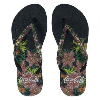 Imagem - Chinelo Coca Cola Forest Infantil  cód: 060805