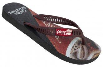 Imagem - Chinelo Coca Cola Glass Masculino cód: 053096