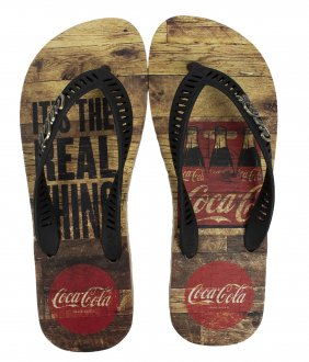 Imagem - Chinelo Coca Cola Real Pack Masculino cód: 058935