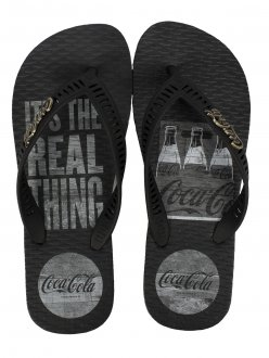 Imagem - Chinelo Coca Cola Real Pack Masculino cód: 058954