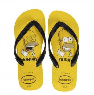Imagem - Chinelo Havaianas Simpsons Fc Tradicional Masculino cód: 057360