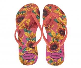 Imagem - Chinelo Havaianas Slim Floral Feminino cód: 057363