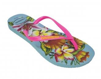 Imagem - Chinelo Havaianas Slim Floral Feminino cód: 053848