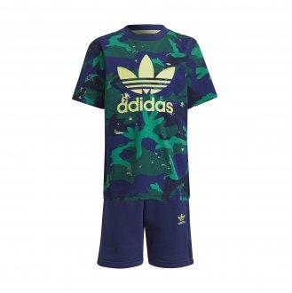 Imagem - Conjunto Adidas Short Tee Set Infantil Masculino cód: 062268