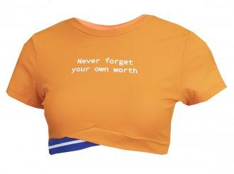 Imagem - Cropped Alto Giro Light Never Forget Feminino cód: 052197