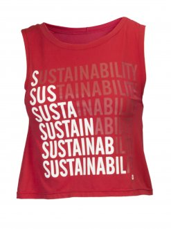 Imagem - Cropped Regata Alto Giro Speed Sustainability Eco  cód: 049473